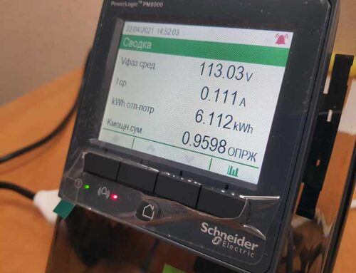 PM8000 от Schneider Electric – надежный измеритель мощности и энергии